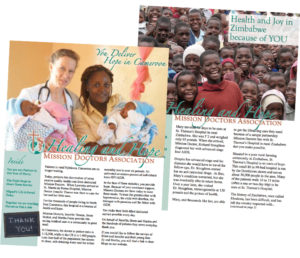 Hope and Healing Newsletters